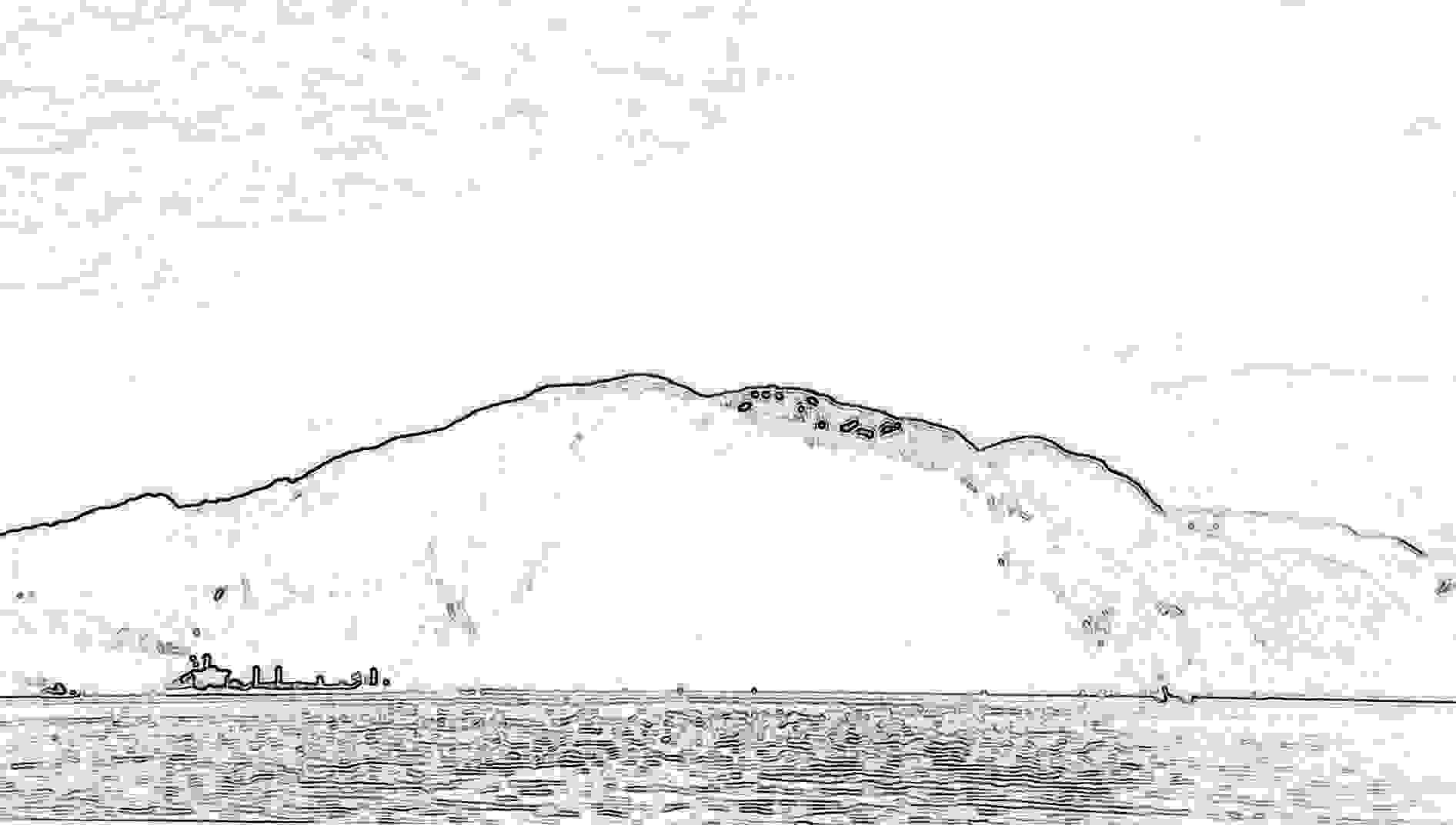 Berge Und See Landschaftsbild Bildvorlage